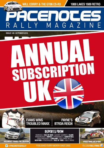 Annual Subscription - UK & NI